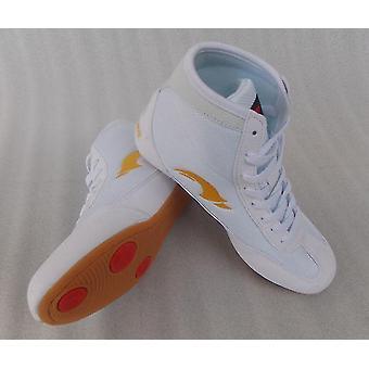 נעלי היאבקות אגרוף מקצועי גומי Outsole נעלי קרב נושמות