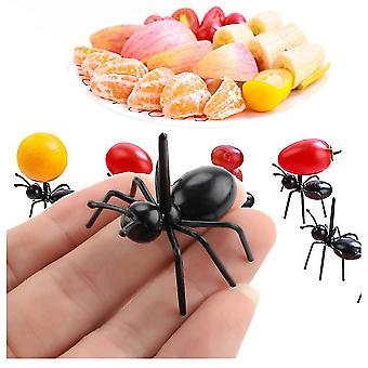 Venalisa Gemdeck Reusable Ant Food Pick, Fruit Toothpicks Dessert Fork (12pcs)