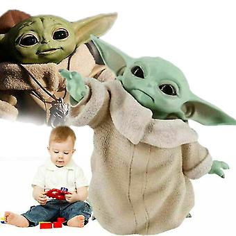 Venalisa Kinder Plüsch Spielzeug Star Wars: Die Mandalorian Spielzeugpuppe Weihnachtsschmuck Andenken