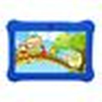 Educational Tablets For Children Wifi Dual Camera Quad-core 512mb + 8gb 7 Inch Compatible With Google And Android -blue