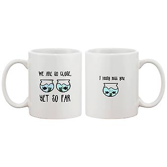 Long Distance Relationship Ceramic Mug Cute Gifts Ideas - I Really Miss You