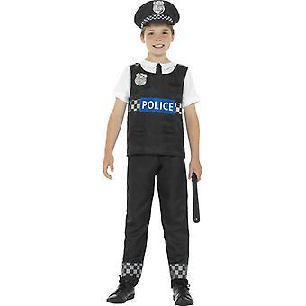 Polizei Bobby Cop Kinderkostüm