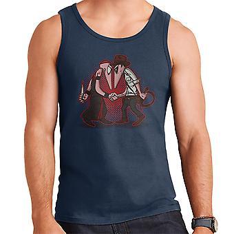 Raider Vs Priest Indiana Jones Vs Mola Ram Temple of Doom Spy Vs Spy Men's Vest