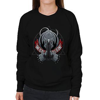 One Is All All Is One Fill Metal Alchemist Women's Sweatshirt
