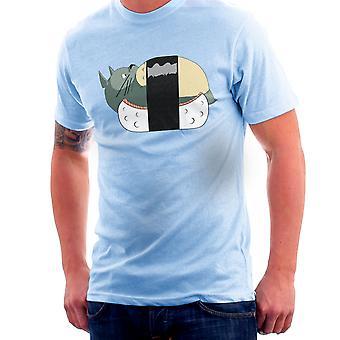 Totoro Sushi Studio Ghibli Herren T-Shirt