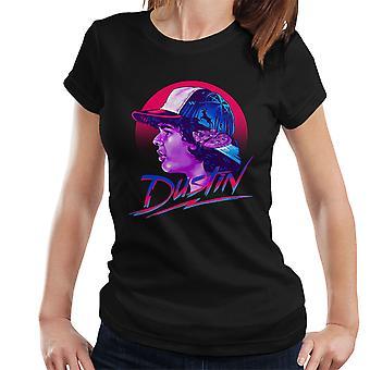 ダスティン モンタージュ見知らぬ人もの女性の t シャツ