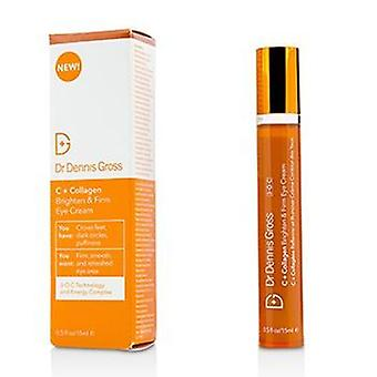 Dr Dennis Gross C + Collagen Brighten & Firm Eye Cream - 15ml/0.5oz