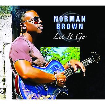 Norman Brown - Let It Go [CD] USA import