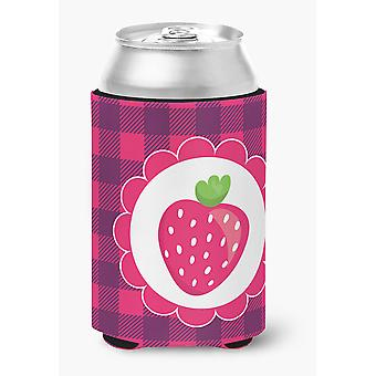 Carolines Treasures  BB7105CC Stawberry Can or Bottle Hugger