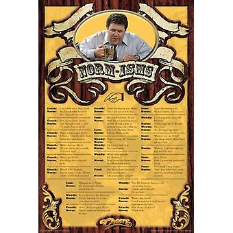 Cheers - Normisms Poster Poster Print