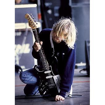 Kurt Cobain Guitar Plakat Poster drucken