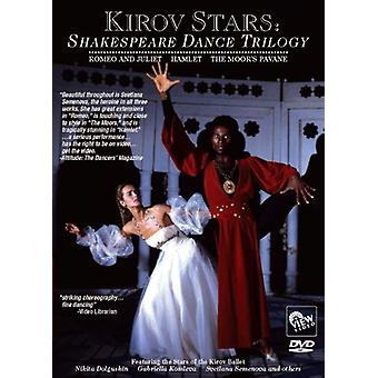Shakespeare Dance Trilogy [DVD] USA import