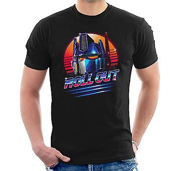 Transformers Optimus Prime Roll Out Men's T-Shirt