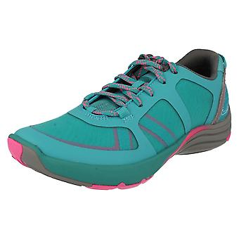 Ladies Clarks Active Wear Trainers Wave Kick
