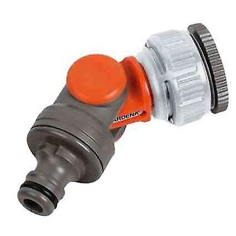 Gardena vinklede roterende Swivel haven Tap stik adapter 1