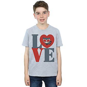 DC Comics Boys Chibi Catwoman Love T-Shirt