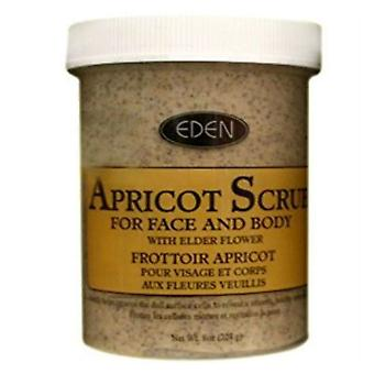 Eden abrikoos Scrub voor gezicht & lichaam 227g