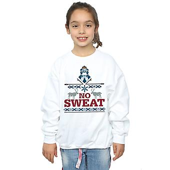 Disney Girls Frozen Oaken No Sweat Sweatshirt