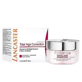 Lancaster totale leeftijd correctie Retinol In olie nacht 50 Ml crème voor vrouwen