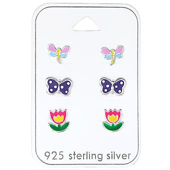 Butterfly - 925 Sterling Silver Sets - W30771X