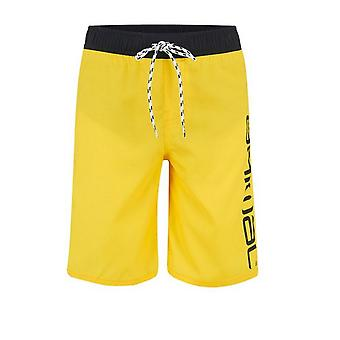 Animal Tannar Kids Board Shorts - Yellow