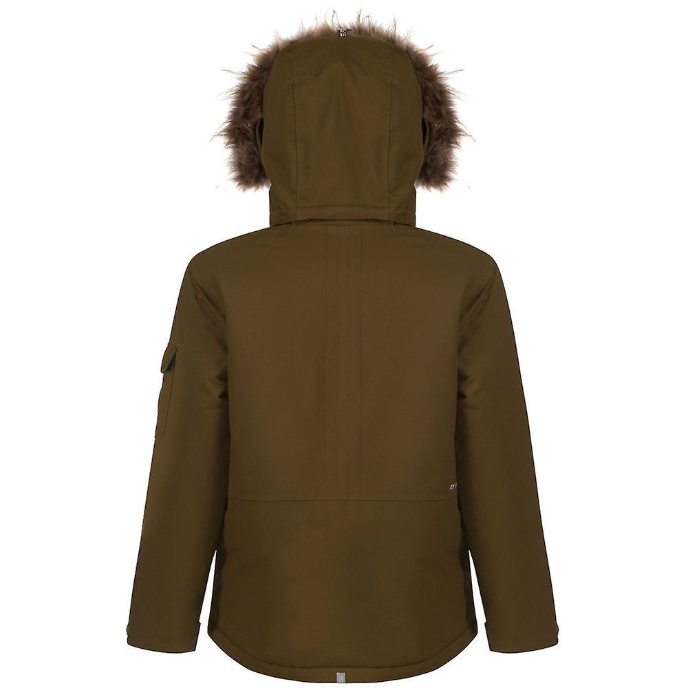 Dare 2b chicos y chicas Kickshaw impermeable chaqueta de esquí guarnecido de piel sintética