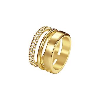Joop femme anneau acier inoxydable or délicat JPRG00004B1