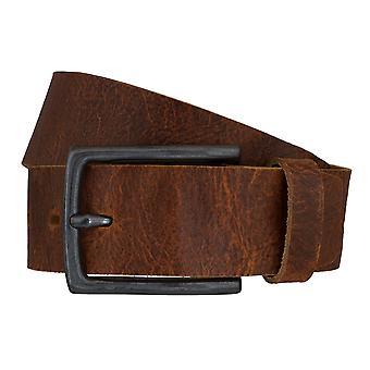 Cinturones de cinturón cinturones de hombres LLOYD de cuero Cognac correa 6608