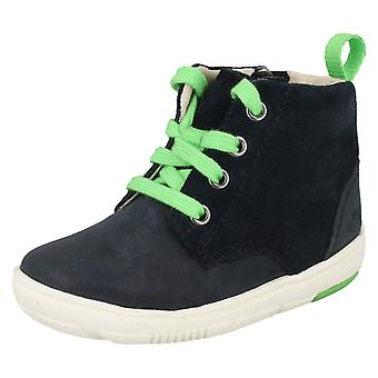 Boys Clarks First Shoes Maxi Hehe Ankle Boots