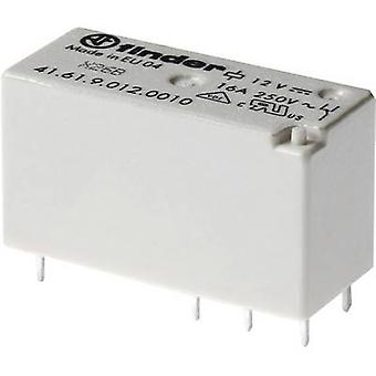 Finder 41.61.09/12/10 PCB relay 12 V DC 16 A 1 change-over 1 pc(s)
