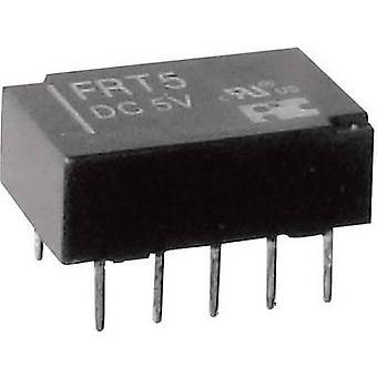 FiC FRT5-DC12V PCB relay 12 V DC 1 A 2 change-overs 1 pc(s)