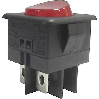 SCI Toggle switch R13-104B-01 250 V AC 10 A 1 x Off/On latch 1 pc(s)