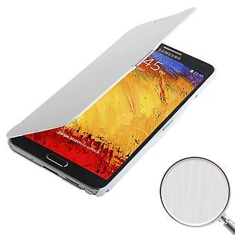 Etui de téléphone portable pour Samsung Galaxy touch 3 N9000 blanc brossé