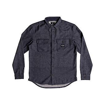 Quiksilver Riku rock camisa de manga comprida em noites azuis