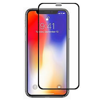 Apple iPhone XR 3D Panzer Glas Folie Display 9H Schutzfolie Hüllen Case Schwarz