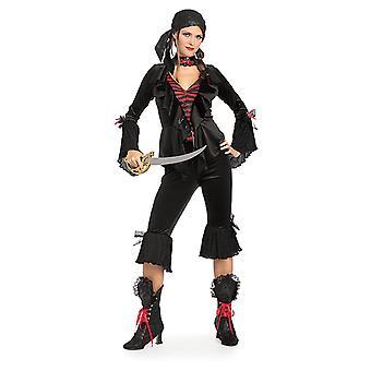 Barokk pirat pirat kostyme deluxe barokk pirat kostyme for kvinner
