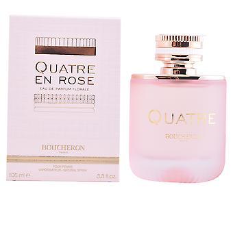 Boucheron Quatre En Rose Edp Florale Spray 100 Ml For Women