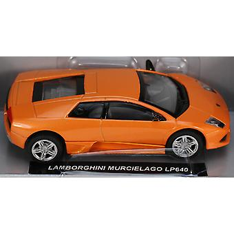 Die-Cast Orange Lamborghini Mucielago LP640 1:43 Scale