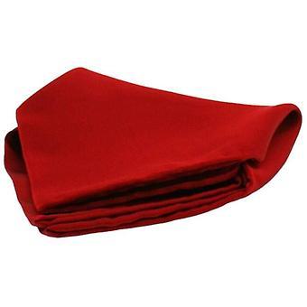 David van Hagen szatén Selyemzsebkendő-vörös