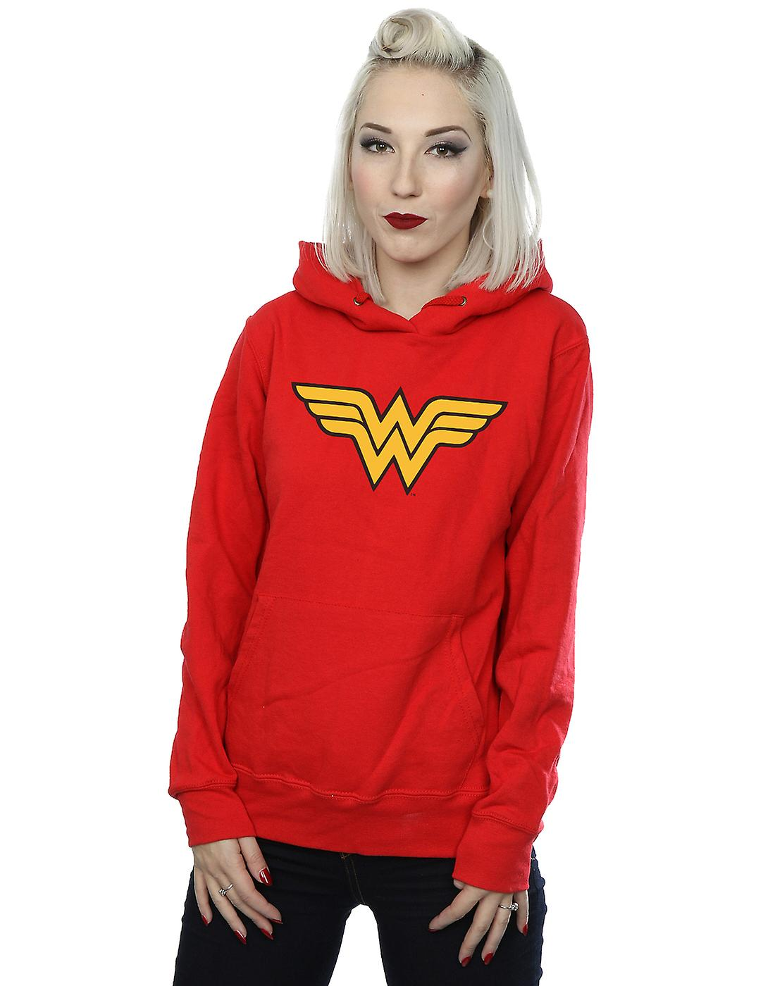 DC Comics Women's Wonder Woman Logo Hoodie