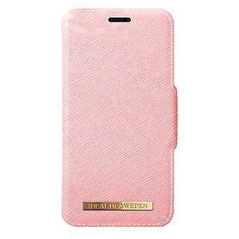 iDeal af Sverige iPhone XR mode tegnebog-pink