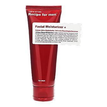 Recept voor mannen Facial Moisturizer Plus + 75 ml