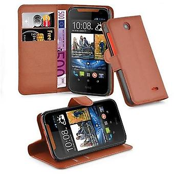 Cadorabo Case for HTC Desire 310 Case Cover - Phone Case with Magnetic Closure, Stand Function and Card Case Compartment - Case Cover Case Case Case Case Book Folding Style