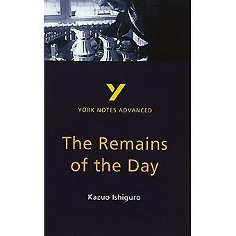 Remains of the Day, Kazuo Ishiguro (Notes de York avancés)