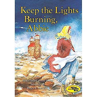 Holde lysene brenner, Abbie (Reading Rainbow bok)