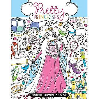 Vackra prinsessor: Vackra prinsessor till färg!