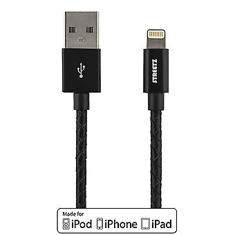 USB-Sync/Charger cable for iPod, iPhone and iPad 1m IPLH-582