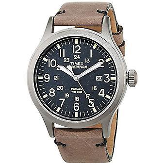Reloj analógico Timex cuarzo hombres con cuero TW4B01700