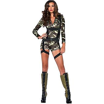 Sexy Military Adult Costume