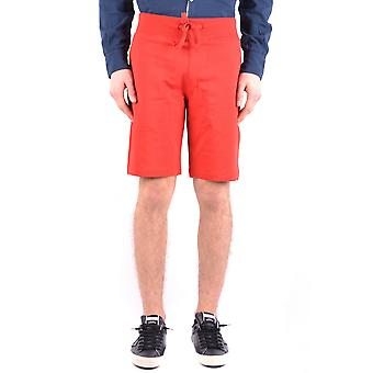 Aeronautica Militare Ezbc047007 Men's Red Cotton Shorts